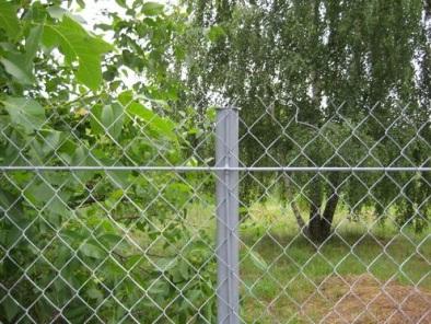Забор из сетки рабица. Цены, стоимость